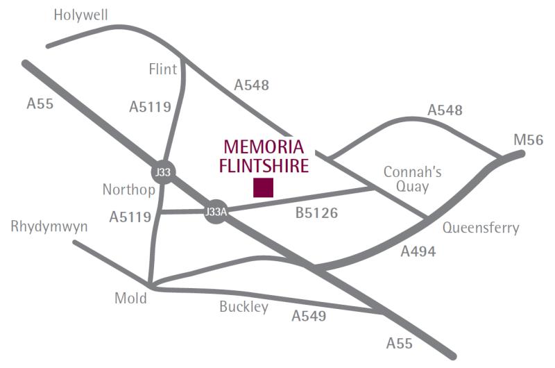 Flintshire Location Map
